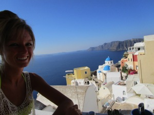 Breakfast in Oia